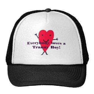 c4, Everybody loves a Tranny Boy! Hats