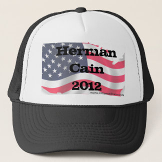 C4C Hat, Herman Cain 2012, www.citizens4cain.com Trucker Hat