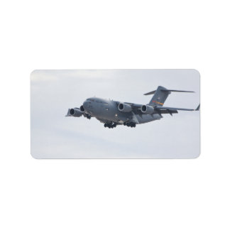 C-17 Globemaster Labels