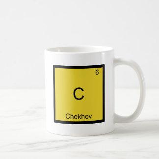 C- Chekhov Funny Chemistry Element Symbol T-Shirt Classic White Coffee Mug