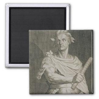 C. Julius Caesar (100-44 BC) Emperor of Rome engra Magnet