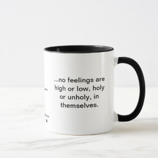 C.S. Lewis: no feelings are high or low Mug