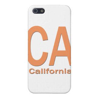 CA California plain orange iPhone 5 Cover