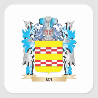 Ca Coat of Arms - Family Crest Stickers