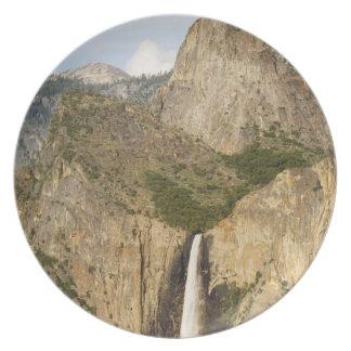 CA, Yosemite NP, Bridalveil Falls Plate
