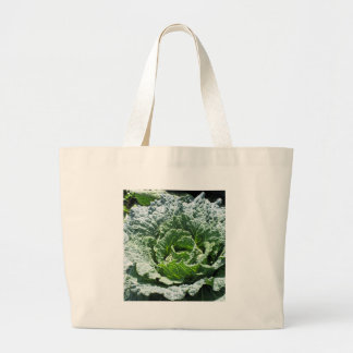 Cabbage Large Tote Bag