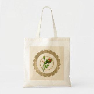 Cabbage Rose Bag