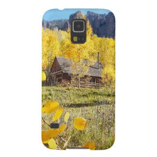 Cabin in Aspens Galaxy S5 Cover