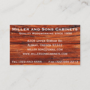 322 business cards zazzle nz cabinet woodworking carpentry business cards reheart Image collections