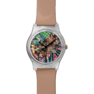 Cactus Collage Watch