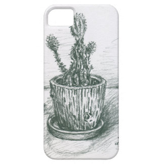 cactus, flowers, nature , plants , pot, magic iPhone 5 case
