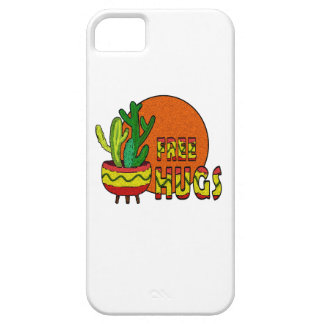 Cactus - free hugs barely there iPhone 5 case
