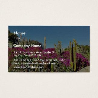 Cactus Garden Business Card