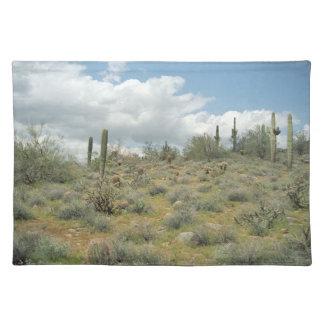 Cactus Pastoral Sweep Desert Photo Placemat