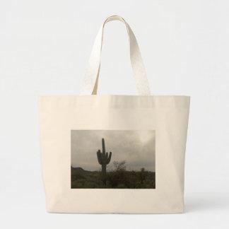 Cactus picture large tote bag