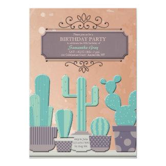Cactus Pots Invitation