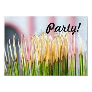 Cactus Top 13 Cm X 18 Cm Invitation Card