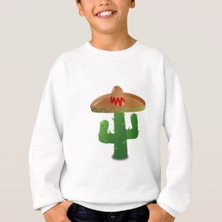 Cactus Wearing Sombrero Sweatshirt