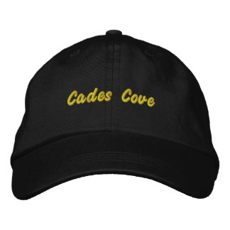 Cades Cove Hat Embroidered Baseball Cap