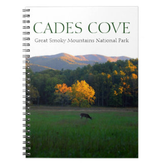 Cades Cove smoky mountain scenery notebook