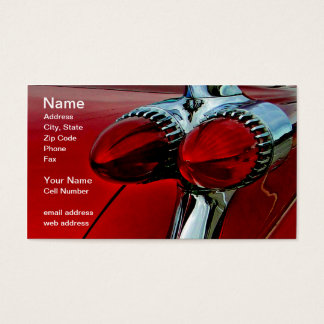 Cadillac Bullets Business Card