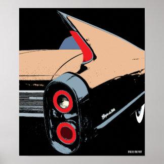 Cadillac Fin - 1962 Poster