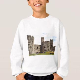 Caernarfon Castle, Wales, United Kingdom Sweatshirt