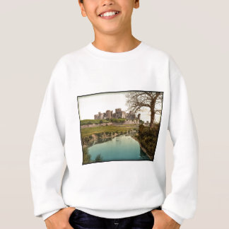 Caerphilly Castle Vintage Photo Wales Sweatshirt