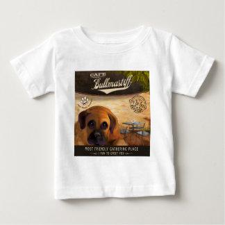 Cafe Bullmastiff Baby T-Shirt