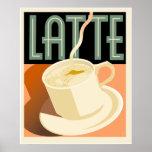 Cafe Deco Latte Print