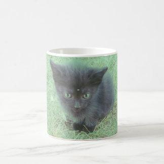 Café Meow Basic White Mug