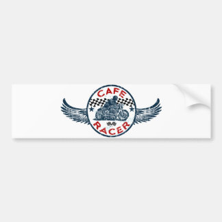 Cafe racer bumper sticker