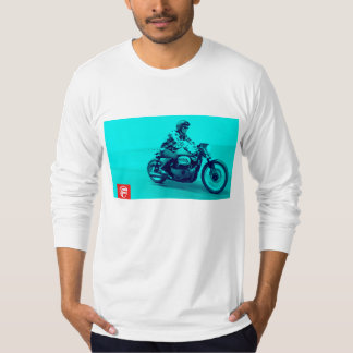 Cafe Racer Classic Tee Shirt by frankmoto
