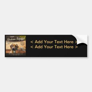 Cafe Rhodesian Ridgeback Bumper Sticker