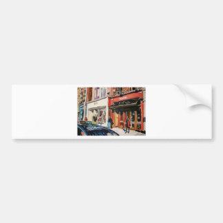 cafe stephens green dublin bumper sticker