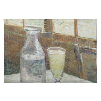 Café table with absinth American MoJo Placemat