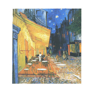 Cafe Terrace, Place du Forum, Arles Notepad