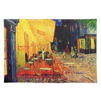 Cafe Terrace Place du Forum Van Gogh Fine Art Placemat