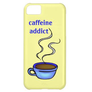 Caffeine Addict Coffee Cup Custom Color iPhone 5C Case