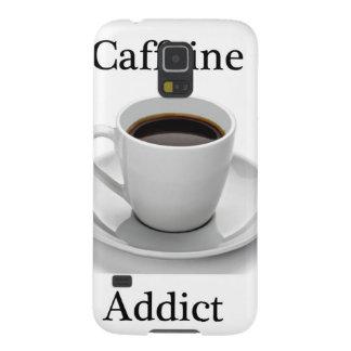 Caffeine addict galaxy s5 covers