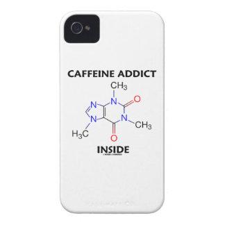 Caffeine Addict Inside (Caffeine Molecule) iPhone 4 Case-Mate Case
