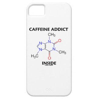 Caffeine Addict Inside (Caffeine Molecule) iPhone 5 Cover