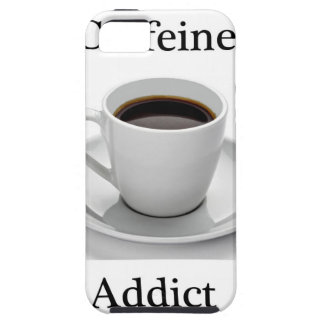 Caffeine addict iPhone 5 covers