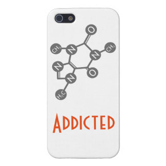 Caffeine Addicted Phone Case iPhone 5 Covers