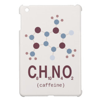 Caffeine Chemical Formula iPad Mini Cases
