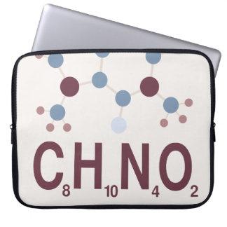 Caffeine Chemical Formula Laptop Sleeves