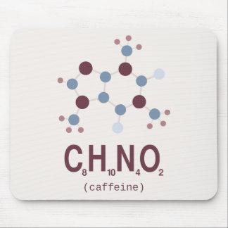 Caffeine Chemical Formula Mouse Pad