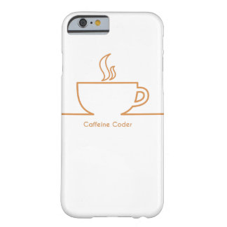 Caffeine Coder Barely There iPhone 6 Case
