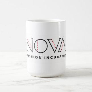 Caffeine is always is always in style! basic white mug