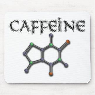 Caffeine Molecule Coffee Chemistry Formula Mouse Pad